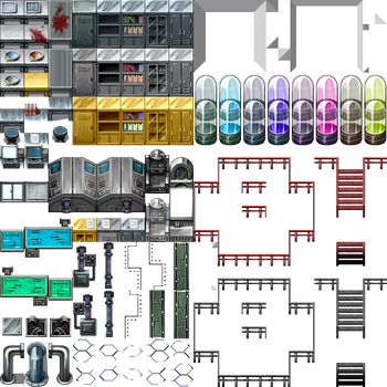 Laboratory Tileset... by SD-Arius