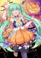 Miku Halloween by SEVENSap13