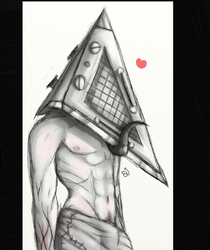 silent hill PH doodle by cross-the-swirl
