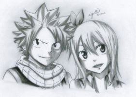 FAIRY TAIL VERSION OF NATSU N LUCY by esbelle