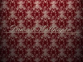 Damask Wallpaper by kali2005