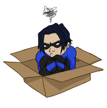 Dick in a box by IvyAdrena