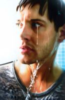 Jensen Ackles Painting3 by rick48180