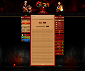 Restia MT2 by enyks.pl - statistics/player panel by sheppard100