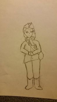 Female Soviet Soldier by Stonewall211