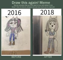 Draw This Again! Meme-Roxie (2016-2018) by FortuneDawn