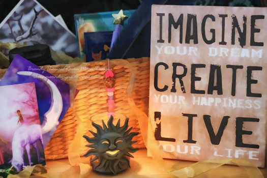 Imagine Create Live by RavenMoonDesigns