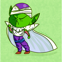 Chibi Piccolo by Ink-Puddle