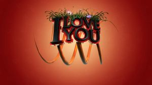 I love you wall by Robsonbillponte666