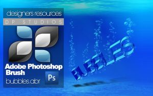 Photoshop Bubble Brush+PSD by DigitalPhenom