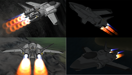 Robotech: Logan Veritech in KSP by 1Wyrmshadow1
