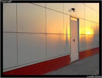 Sunset Wall by Gaspaio