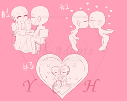 Chibi love YCH (Auction) - Closed by 96-Adopts