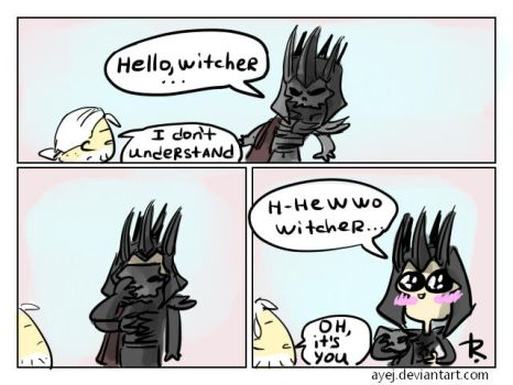 The Witcher 3, doodles 270 by Ayej