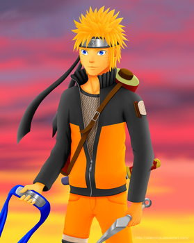 Naruto: Never Give Up by AlienNinja