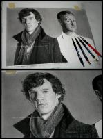 Holmes brothers commission WIP by Angelstorm-82