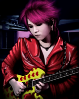 Hide ( X Japan ) by shiroii-lika