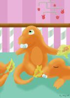 charmander babys by May-Lene