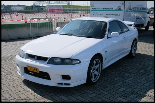 1995 Nissan Skyline R33 GTR by compaan-art