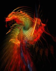 Colorful Dragon by Goldey--Too