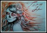 Day of the Dead Girl by AMusoke
