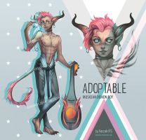 ADOPTABLE DEMON BOY (closed) by KanzakiVS