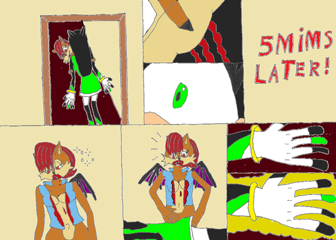 Sally the Vampire Queen comic page 6 by Power1x