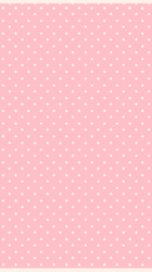 pink background with dots by LiaxmmyArt