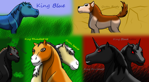 The Kings And Queens Of My Imagination by horse14t