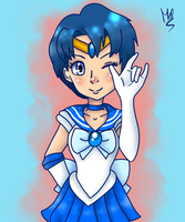 Sailor Mercury by Meloewe