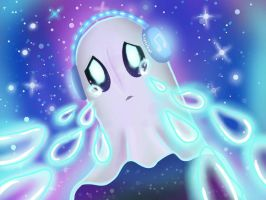 Napstablook the crybaby  by Ninetaleon