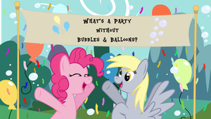 What's a Party without Bubbles and Balloons? by oOBrushstrokeOo