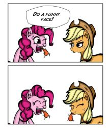 Do a funny face by LAD210