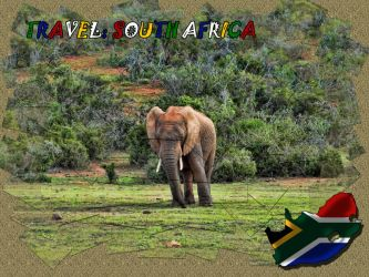 Travel: South Africa Calendar by olrangelo
