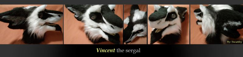 Vincent the sergal by Swatthy