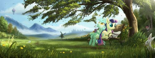 Story of the bench by Devinian