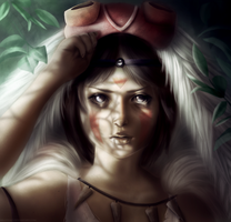 Princess Mononoke by Arasteia