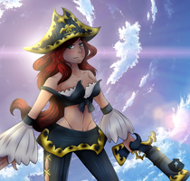Miss Fortune - LoL by Senpai-Hero
