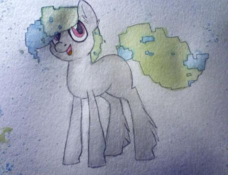 Water colour pony painting! by Khrys-Faolan