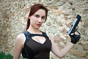 Lara Croft Underworld - smile by TanyaCroft