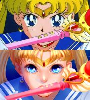 Sailor moon redraw by Emilyena