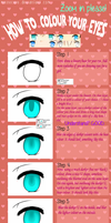 [SAI] How To Colour Eyes Tutorial by Mainecare