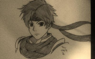 Roy (SSB4) by cromsifing