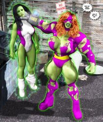 Titania's Hulk-Out 03 by Stone3D