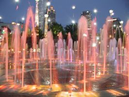Fountains of Light 1 by CosmoWonderly
