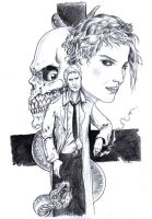 DND Paris Contribution : Hellblazer by emalterre