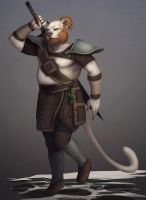 fishbook5 commish khajit by Sythgara