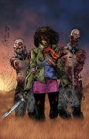 Michonne by RossHughes