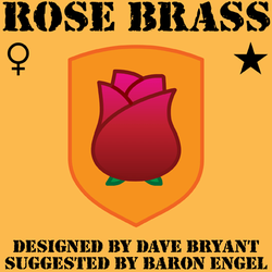 Cutie mark: Rose Brass by Catspaw-DTP-Services