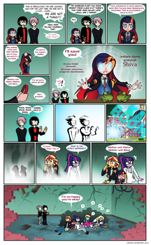 Gamma's magic page 5 by Crydius
